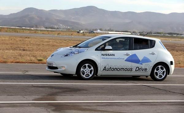 Беспилотный автомобиль Nissan Leaf