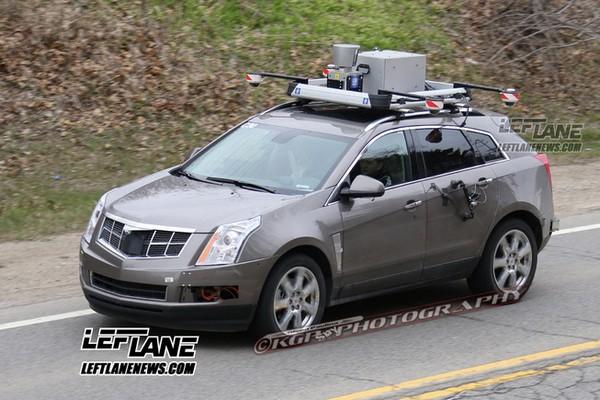 Беспилотный автомобиль Cadillac SRX