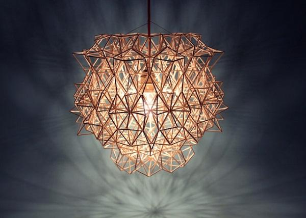 Светильники в форме созвездий.