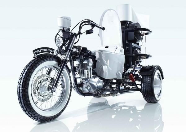 Toilet Bike Neo – туалет-мотоцикл