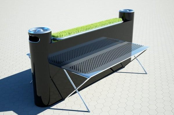 Smoker Bench – скамейки для курильщиков