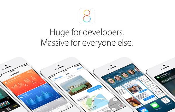 iOS 8 – новая операционная система от Apple