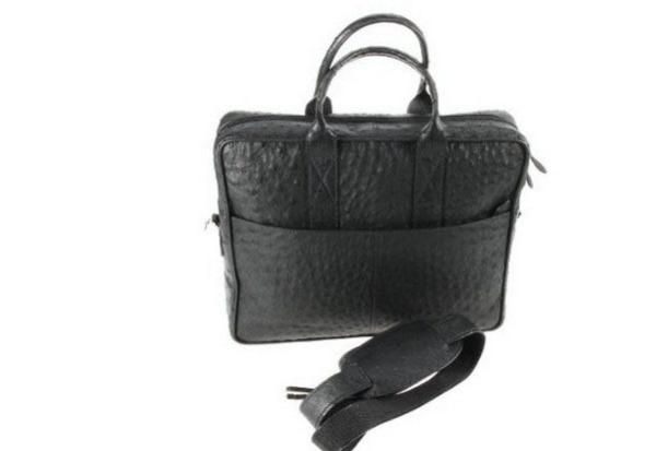 Lucrin – сумка из страусиной кожи