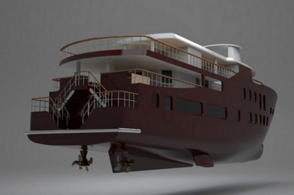 Яхта 006