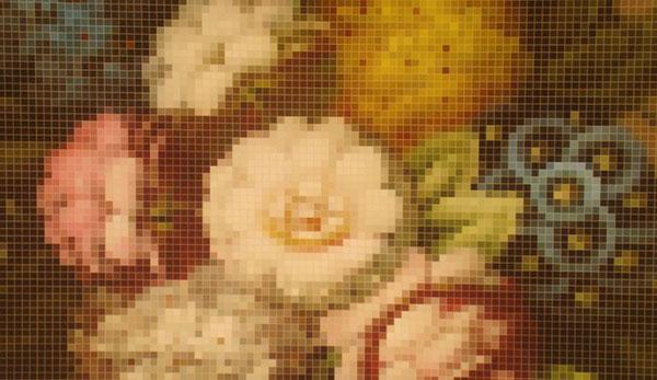 Стильные обои в цветочек от Eco Wallpaper.
