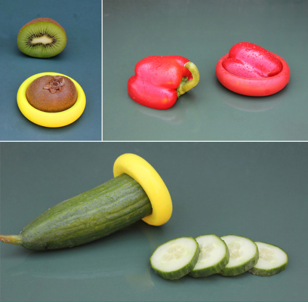 Food Huggers - способ хранения овощей и фруктов.