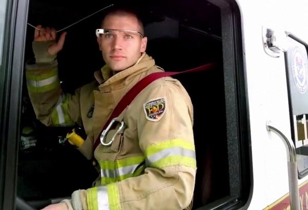 Умные очки Google Glass в помощь пожарным и спасателям