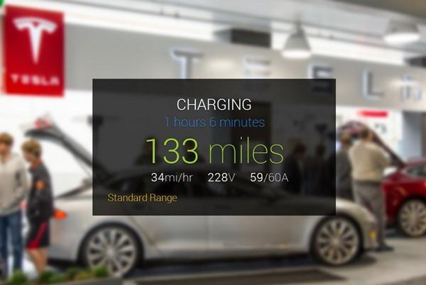 Приложение GlassTesla для интеграции Google Glass и Tesla Model S
