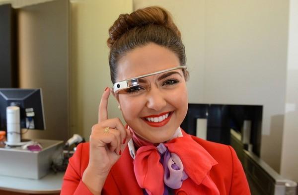 Умные очки Google Glass для сотрудников Virgin Atlantic