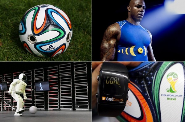 Новые футбольные технологии
