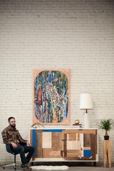 Мебель от дизайн-студии kith&kin.