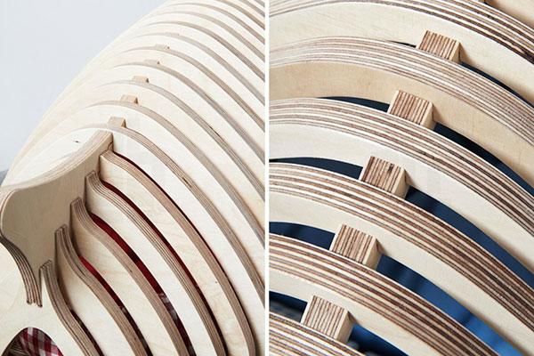 Деревянные домики, которые легко собрать.