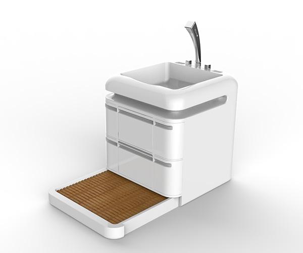 Q-Compact Toilet - компактный душ.