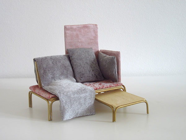 Мягкая мебель от Giorgia Zanellato и Daniele Bortotto.