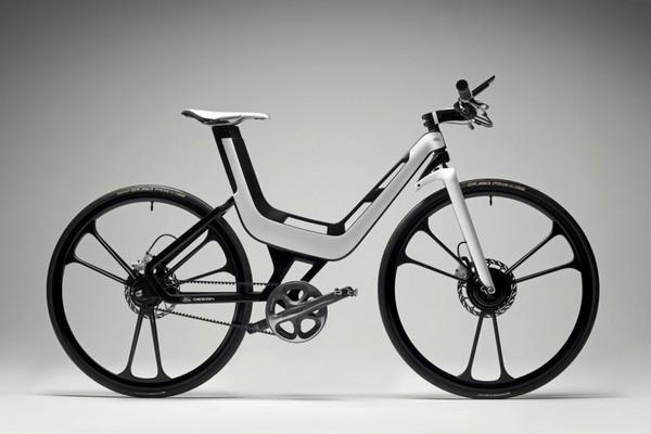 Умный велосипед Ford E-Bike