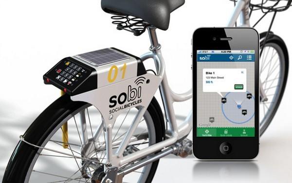 Умный велосипед SoBi