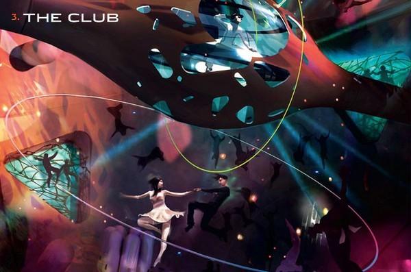 Орбитальный ночной клуб от Playboy и Virgin Galactic