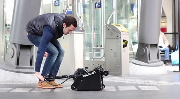 Trikelet – самый маленький в мире электрический скутер