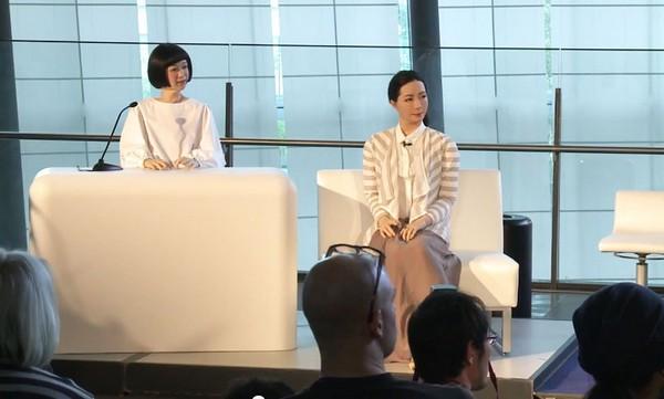 Роботы-телеведущие из Японии