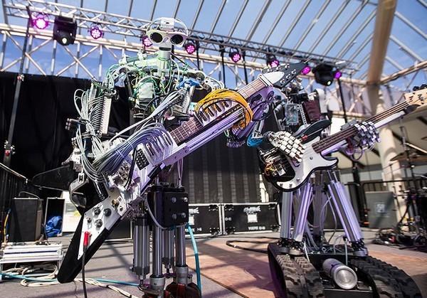 Compressorhead – музыкальная группа из роботов