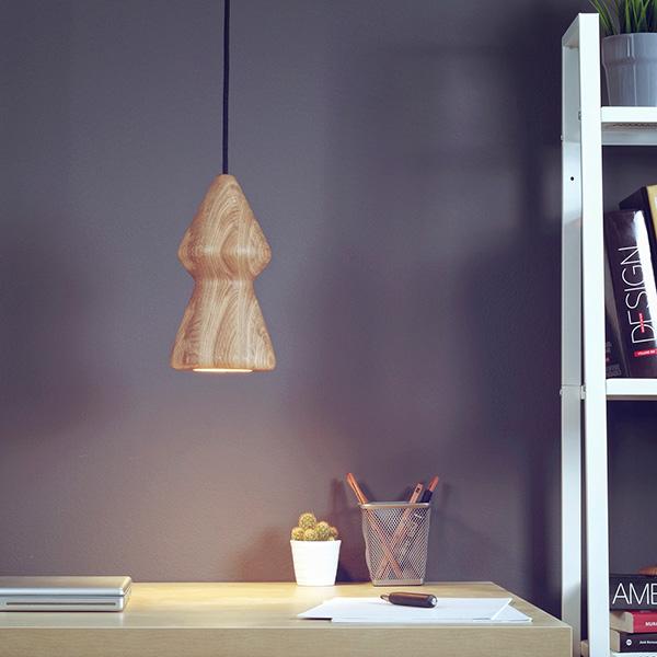 Коллекция светильников из дуба Nojar.