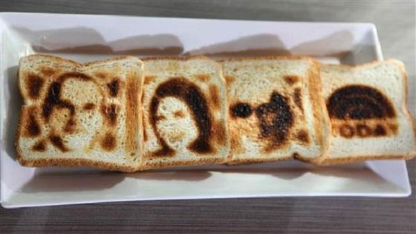 Оригинальные тосты.