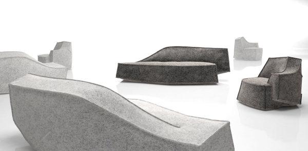 Новая коллекция мягкой мебели от Жан-Мари Массо (Jean Marie Massaud).