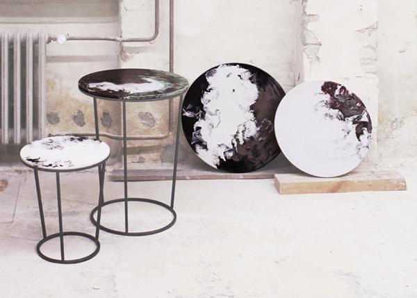 Необычные столики от Elisa Strozyk.