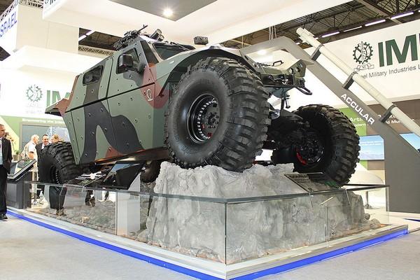 Combat Guard – новый бронеавтомобиль для армий Израиля и США