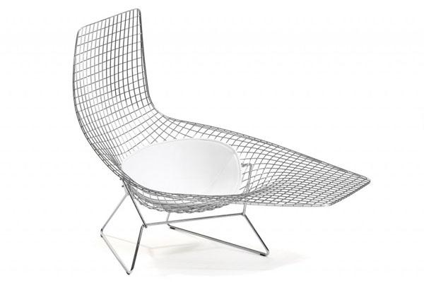 Ассиметричное кресло Бертоя