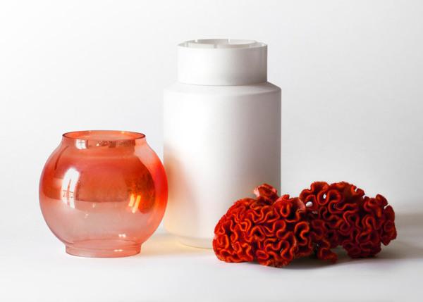 Необычные вазы от Giuseppe Bessero Belti.