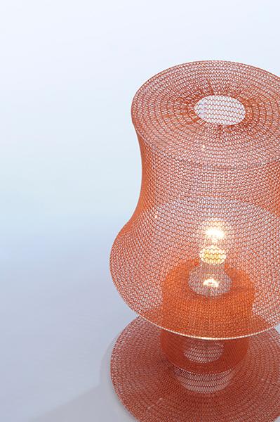 Светильники из трикотажных нитей.