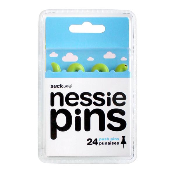 Набор кнопок Nessie pins. Упаковка.