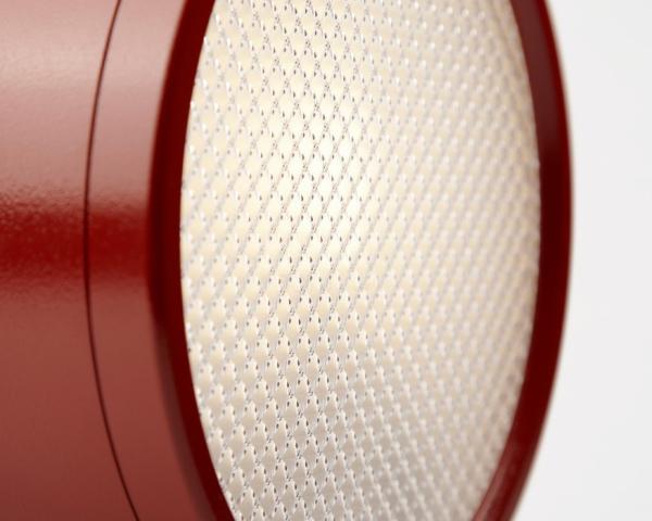 Nod - настольная лампа с призматическим рассеивателем.