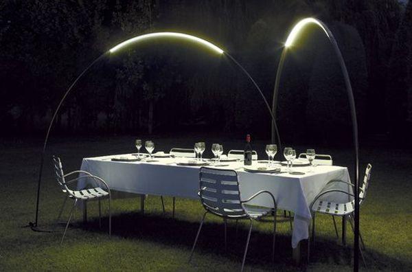 Оригинальная садовая лампа
