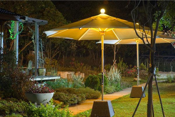 Зонт-фонарь