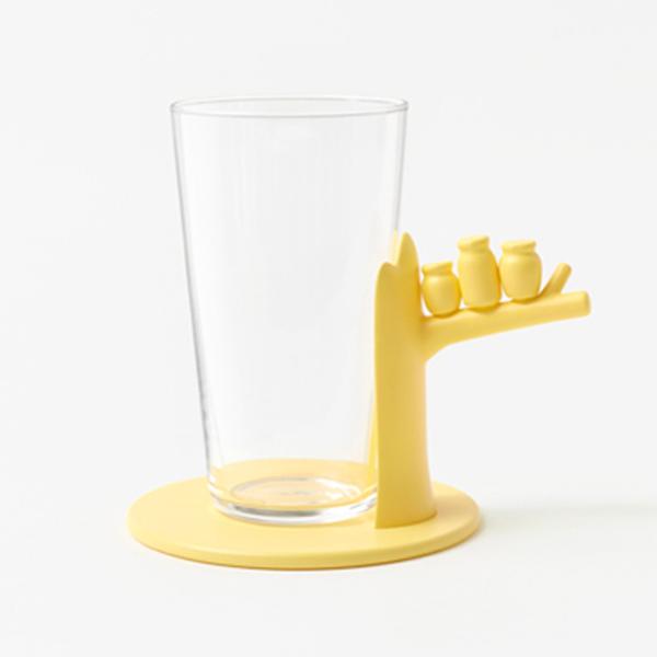 Коллекция стеклянной посуды от Nendo.
