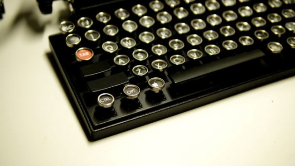 Клавиатура для планшета, в удивительном ретро-дизайне.