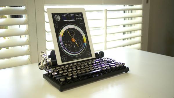 Qwerkywriter. Ностальгический дизайн в современных устройствах.