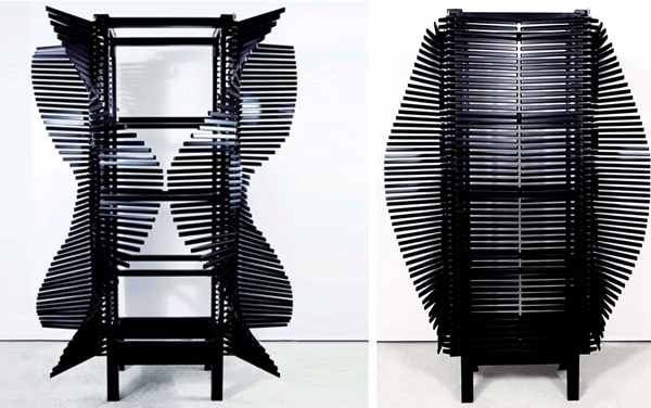 Шкаф, вдохновленный доспехами самураев.