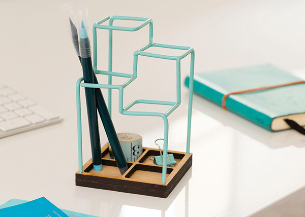 Оригинальный органайзер для минималистов.