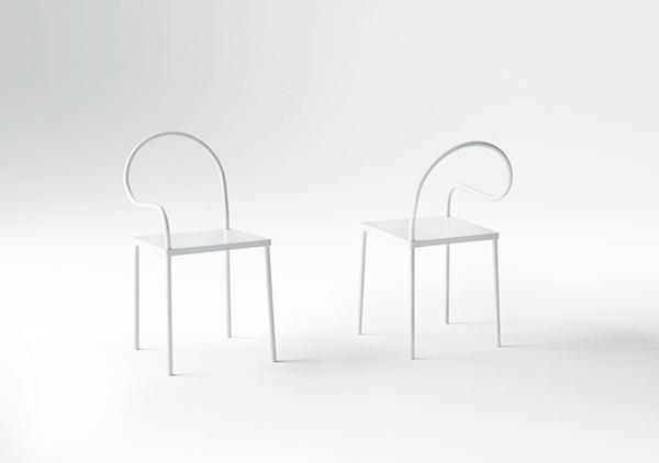 Мебель, похоая на бумажную.