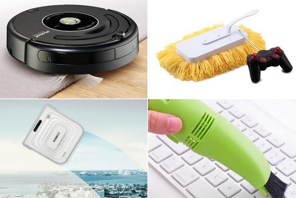 Необычные современные устройства для уборки дома