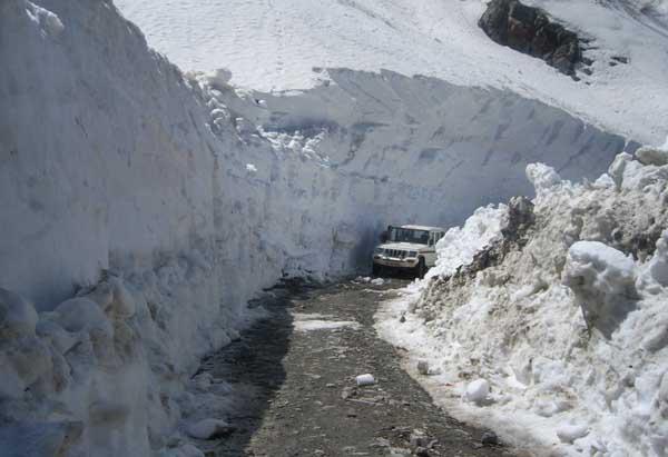 Дорога Rohtang Pass, Индия