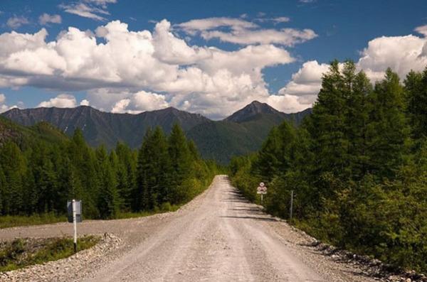 Дорога «Колыма», Сибирь
