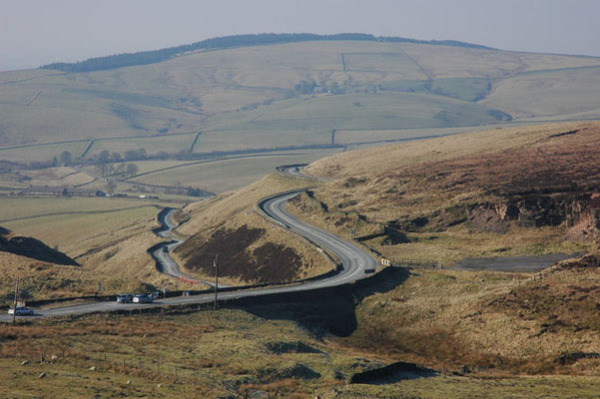 Дорога A537, Соединенное Королевство
