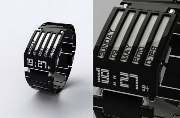 HorodronHD-01 – практически вечные наручные часы