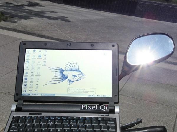 SunBook – ноутбук без отблесков для работы на открытом воздухе