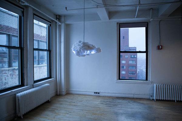 Интерактивное грозовое облако.