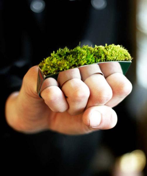 Зеленый кастет.